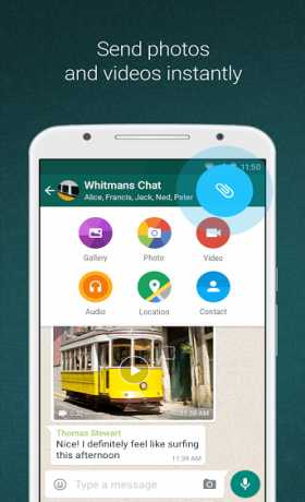 WhatsApp Messenger 2.17.368  (Call Featuring/Web) + MOD APK