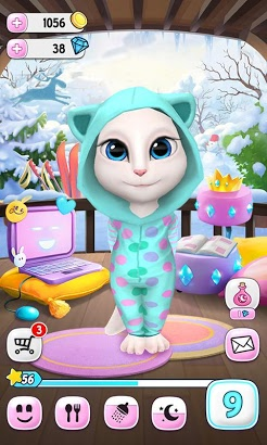Download My Talking Angela Mod [Unlimited Coins & Diamonds