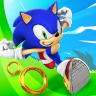 Sonic dash (2014) promotional art mobygames.