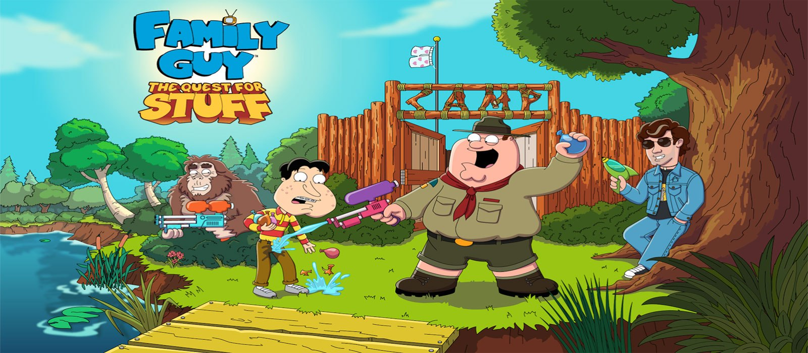 family guy quest for stuff mod apk unlimited clams